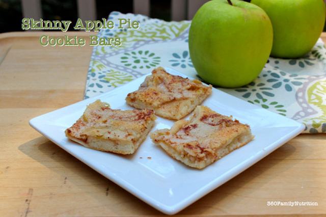 Skinny Apple Pie Cookie Bar