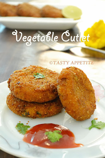 VEGETABLE CUTLET RECIPE - HOW TO MAKE VEGETABLE CUTLET / STEP-BY-STEP RECIPE / KIDS FRIENDLY SNACKS