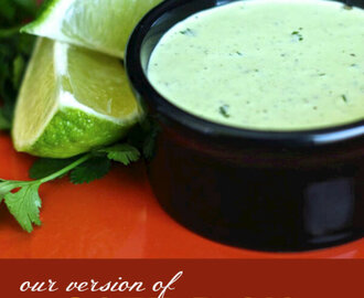 Cafe Rio's Cilantro Ranch Dressing