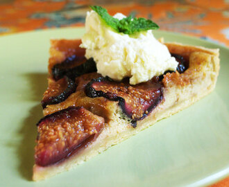 Browned Butter Fig Tart