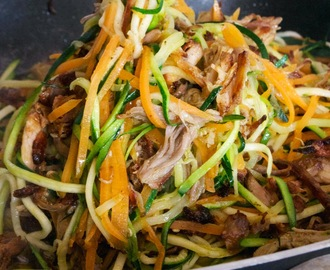 Pulled Pork and Zoodles (AIP)