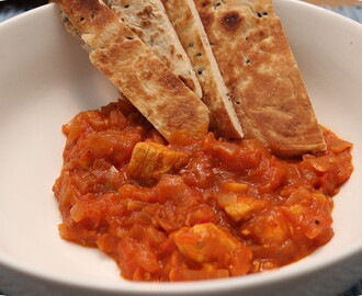 Kip Curry met Naanbrood