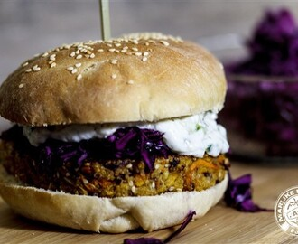 'The Big Latti! - De lekkerste veggie burger ooit!