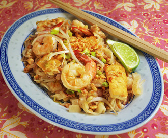 Pad Thai; Thai Fried Noodles