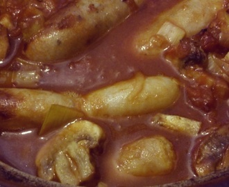 Hearty Sausage casserole