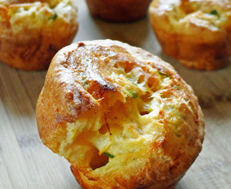 Savory Cheese Popovers; Daring Bakers Challenge, February 2012