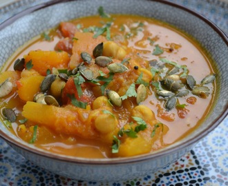 Pompoen kikkererwt curry - pumpkin chickpea curry(3-4 pers)