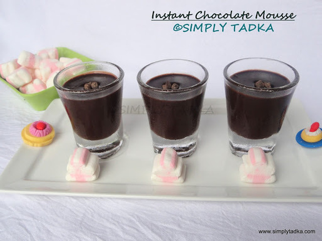 Instant Chocolate Mousse