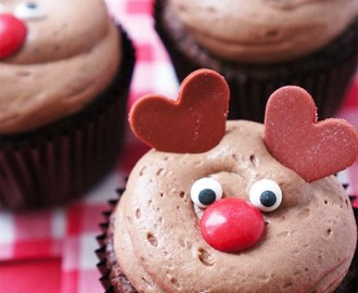 Kidsproof: Rendier cupcakes