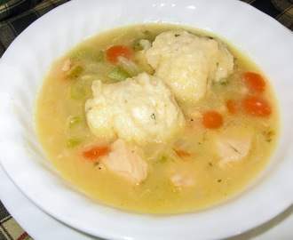 Family Favorites - Chicken Stew with Dumplings