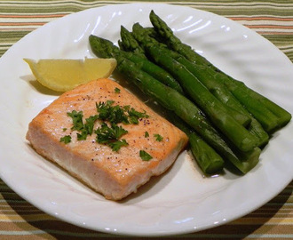 Roasted Salmon with Butter From Mark Bittman
