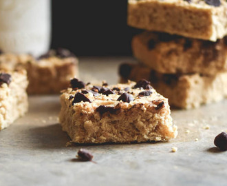 Chocolate Chip White Bean Blender Blondies