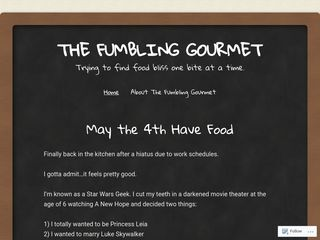 The Fumbling Gourmet