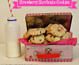 Strawberry Short Cake Cookies