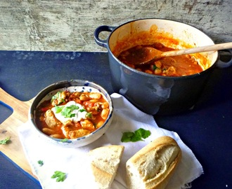 Easy Student Recipe: Chicken Chorizo And Butterbean Stew