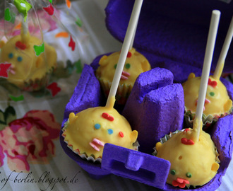 [bakes...] Chicklet Cake Pops for Easter