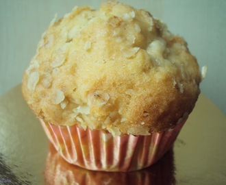 Appel-yoghurt-havermout muffins