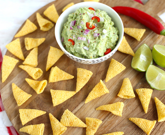 Bugles vultip: Mexicaanse avocado dip