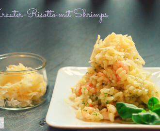 Kräuter-Risotto mit Shrimps à la Tim Mälzer // Risotto with Herbs and Shrimp