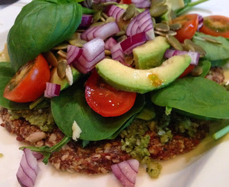 Rawfood pizza