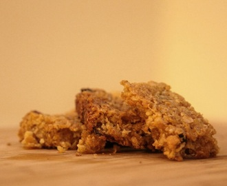 Orange and Apricot Flapjack