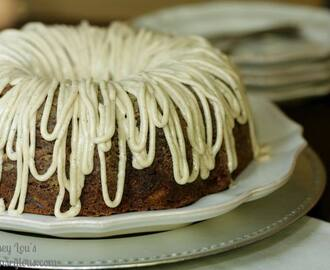Apple Cake with Brown Butter Frosting
