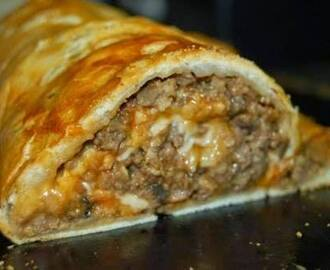 Stuffed Meatloaf Roll
