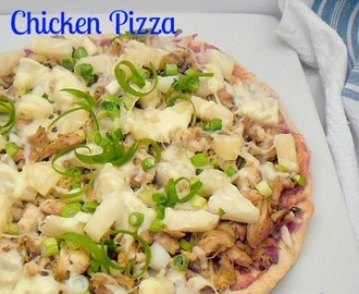 Quick Crust Hawaiian Chicken Pizza