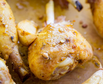 Coriander Chicken Drumsticks