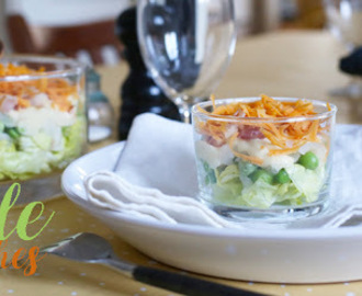 Salade multi couches