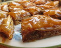Peanut, Chocolate and Caramel Baklava