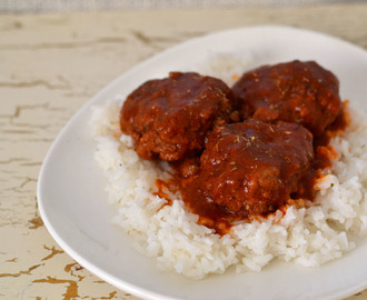 Greek Meatballs (Soutzoukakia) for #FamilyDinnerTable #SundaySupper