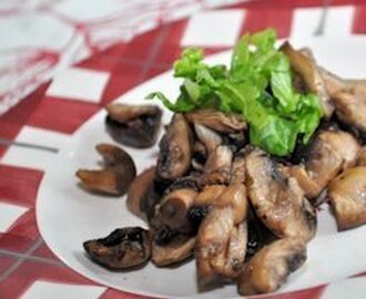 Actifry Recipe:  Fried Garlic Mushrooms