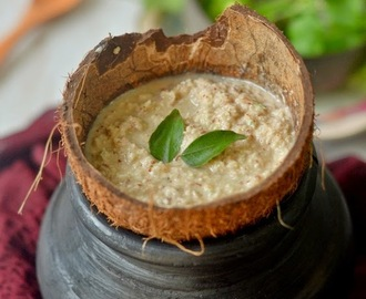 Restaurant style Coconut Chutney :: Naariyal ki Chutney :: South Indian Chutney