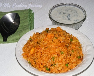 Tamatari Kasoori Pulao – Flavorful rice with juicy tomatoes and fragrant dry Fenugreek leaves