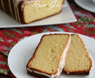 Eggnog Bread with Rum Glaze and A Last Minute Gift Guide