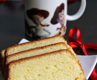Basic butter cake recipe – how to make a simple butter cake (light and moist)