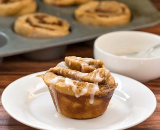 60 Minute Gingerbread Cinnamon Rolls