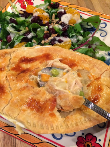Love in a dish :)  My homemade chicken pie will comfort your heart and soul!  Enjoy :)