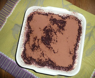 Tiramisu version Petit Beurre