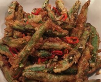 Chinese Chips – French (Bean) Fries with a Chinese Twist