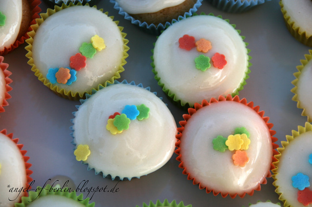 [bakes...] Vanille Cupcakes