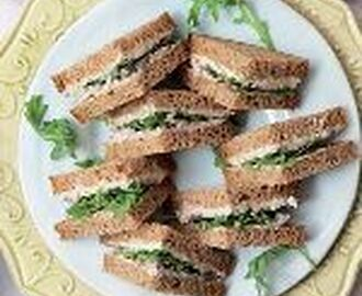High tea - Makreelsandwich