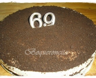 TARTA DE CHOCOLATE BLANCO Y GALLETAS OREO THERMOMIX