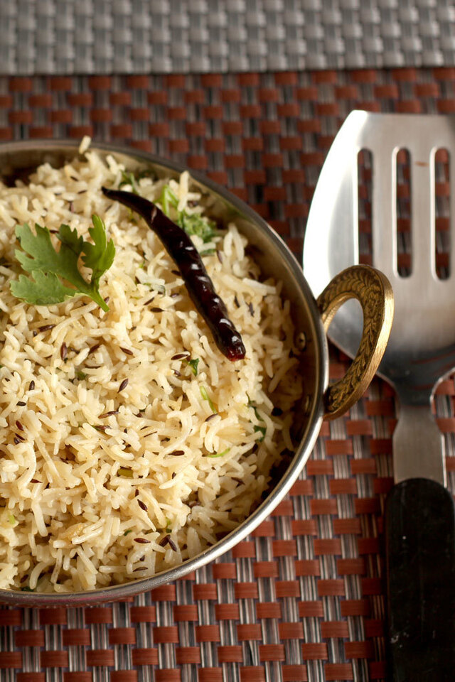 Jeera Rice Recipe or Cumin Rice In Pressure Cooker | How To Make Jeera Rice