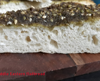Maneesh – Middle Eastern flatbread
