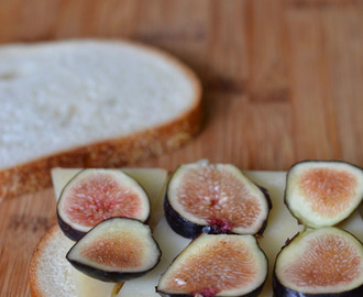 Fig and Manchego Grilled Cheese Sandwich
