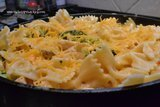 Cheesy Chicken and Broccoli Pasta with Mushrooms