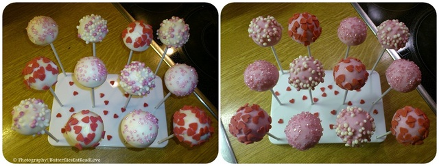 [Butterflies Bakery] Cake Pops - ValentinsEdition