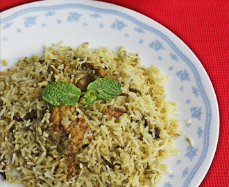Restaurant style Hyderabadi Chicken biryani recipe – How to make chicken biryani in restaurant style